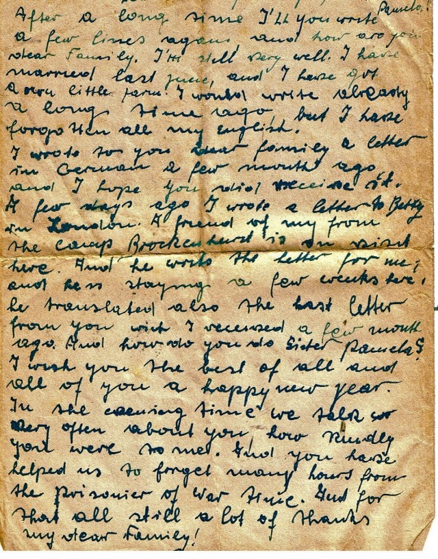 Letter from German POW (3)