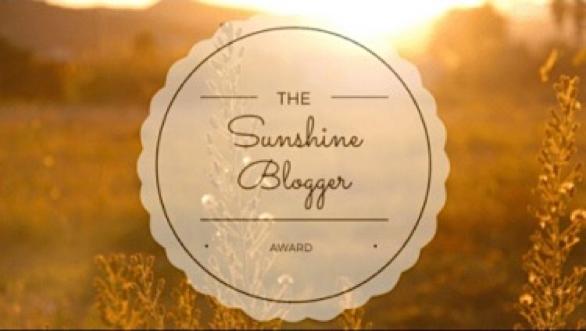 Sunshie Blogger Award